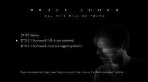 Bruce Soord DVD Menü