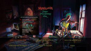 Marillion Script for a jesters tear Blu-ray-Menu