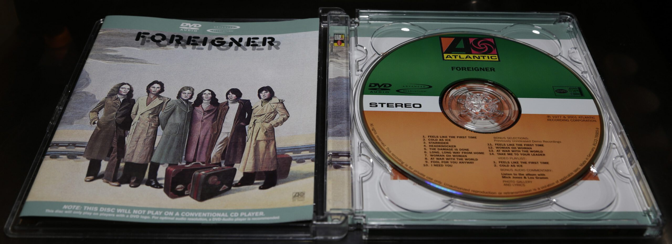 Foreigner Foreigner DVD Audio Surround Mix Review