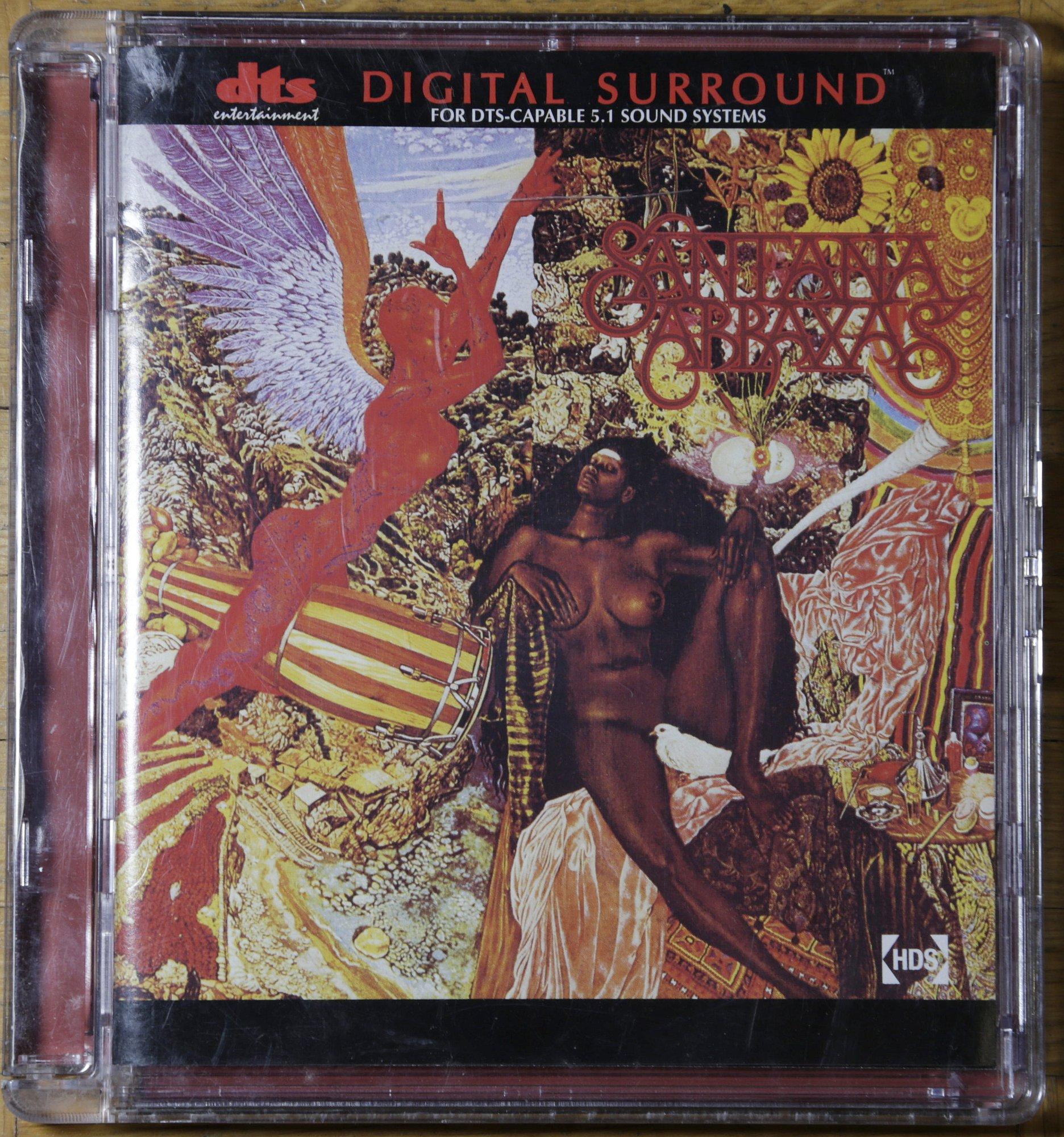 Santana Abraxas DTS CD Surround Sound Review