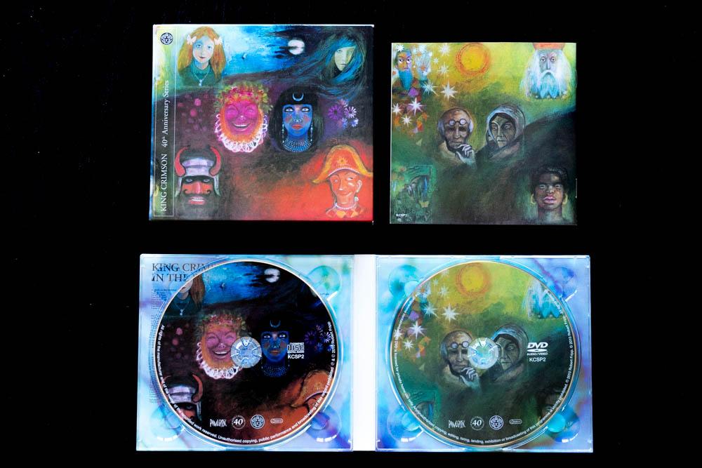 King Crimson In The Wake Of Poseidon DVD Audio