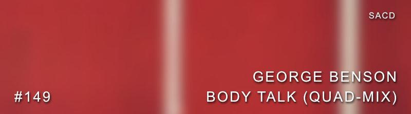 George Benson Body Talk SACD Quad-Mix Review