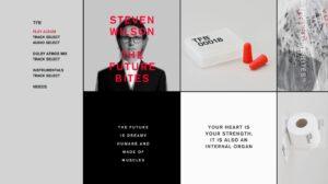 Steven Wilson The Future Bites Blu-ray Menu