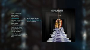 Chris Squire Fish out of Water Blu-ray Menu