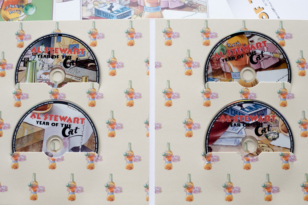 Al Stewart Year Of The Cat 3 CDs + 1 DVD