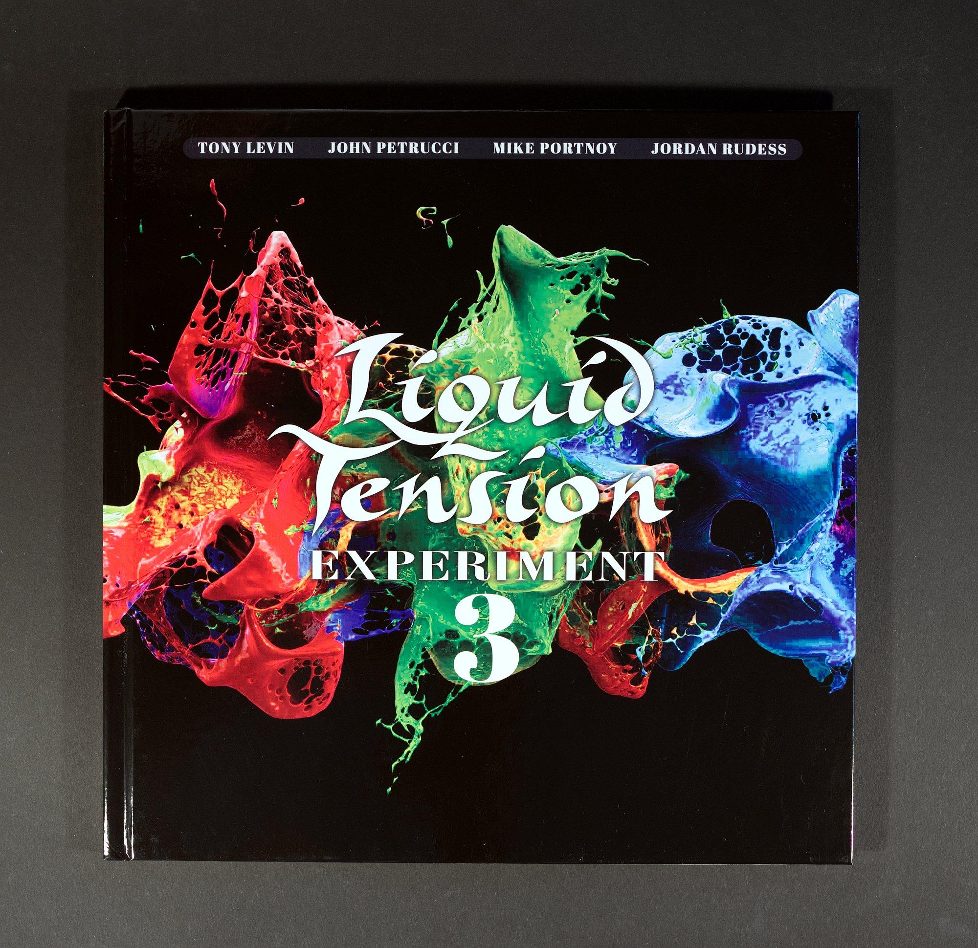 Liquid Tension Experiment LTE 3 Artbook