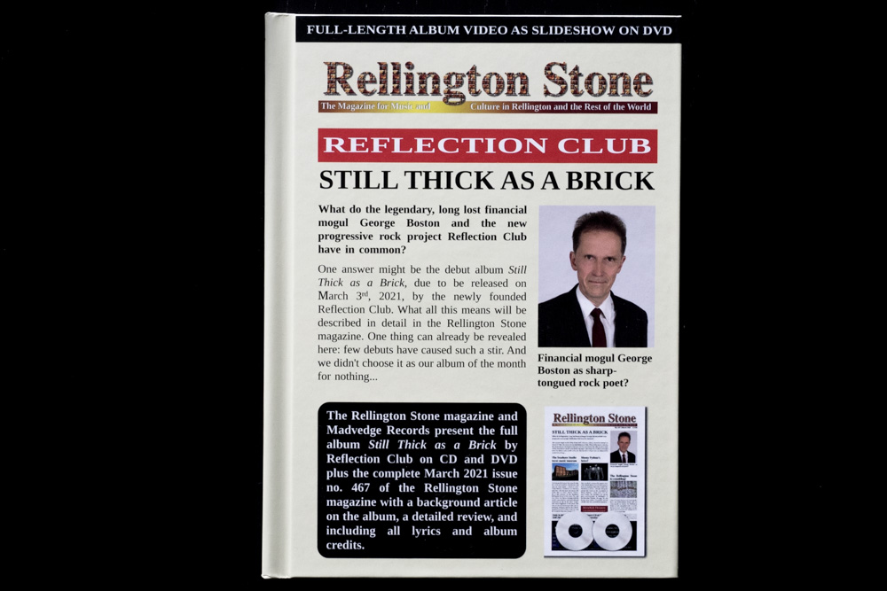 Reflection Club Still Thick as A Brick Deluxe Edition