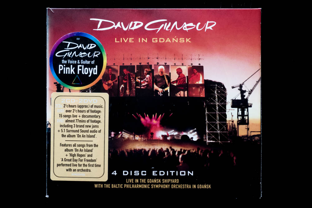 David Gilmour Live In Gdansk On An Island Surround